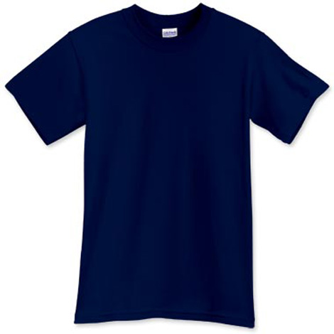 Short Sleeve Navy T-shirt for $10.00
